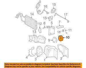 FORD OEM Evaporator Heater-Fan 3W1Z19834AA