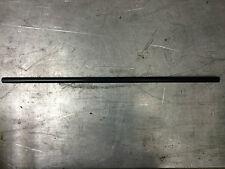 "STRAIGHT DRAG BAR 7/8"" Harley Cafe Custom Broom Handle Non-Dimpled Black 32"""