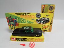 Vintage Corgi 1/43 Green Hornet Black Beauty Car RX210