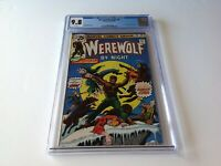 WEREWOLF BY NIGHT 38 CGC 9.8 WHITE PAGES CLASSIC FULL MOON WOLF COVER MARVEL