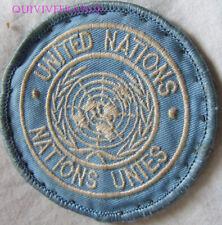 IN12789 - INSIGNE TISSU PATCH NATIONS UNIES