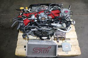 JDM 2004-2005 Subaru WRX STi 2.0L EJ207 V8 AVCS DOHC Turbo Engine Motor ONLY