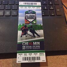 NHL STADIUM SERIES ALUMNI GAME TICKET STUB MINNESOTA NORTH STARS BLACKHAWKS