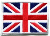 Union Jack British flag United Kingdom Britain applique iron-on patch Small S102