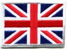 Union Jack British flag United Kingdom Britain applique iron-on patch Small S102