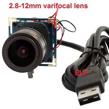 2MP 2.8-12mm Varifocal CCTV Medical Board USB Camera Module For Android,Linux,Wi