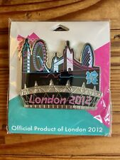 OLYMPICS LONDON 2012 CITY OF LONDON OVERSIZED COLLECTOR PIN