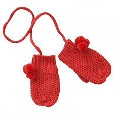 Gants Moufles Louise Coquelicot Driss Rose Litchi Pompons Marese Taille 2 Neufs