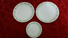 2 Corelle Sweet Blossoms Dinner Plates & 1 Bread & Butter Plate