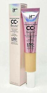 IT CC Illumination Cream SPF 50+ Your Skin But Better 32ml 2 SHADES LIGHT MEDIUM