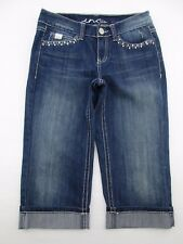*INC* SIZE 4 WOMEN'S BLUE STRETCHY 66% COTTON DENIM SHORTS