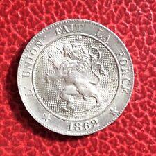 Belgique - Léopold Ier  - Magnifique monnaie de 5 Centimes 1862