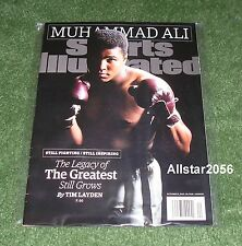 2015 MUHAMMAD ALI~SPORTS ILLUSTRATED~THE GREATEST BOXER OF ALL-TIME-NO LABEL
