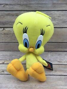 "2002 Nanco Looney Tunes ""Tweety Bird"" Plush Stuffed Toy 12"" Warner Brothers"