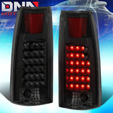 FOR C/K C10 YUKON/BLAZER/TAHOE BLACK SMOKE HOUSING LED TAIL LIGHT BRAKE/REVERSE