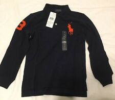 Ralph Lauren Boys' Logo Long Sleeve Sleeve T-Shirts & Tops (2-16 Years)