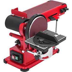 Band- und Tellerschleifer Bandschleifer Schleifmachine Bandschleifmaschine 375W