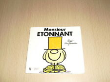 "Monsieur ETONNANT  Roger Hargreaves Collection ""Bonhomme"""