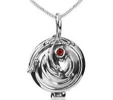 925 Sterling Silver New Vampire Diaries Elena Vervain Pendant Necklace Locket