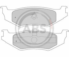 A.B.S. Brake Pad Set, disc brake 38512