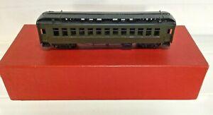 HON3 BRASS MODEL TRAIN - S. SOHO & CO D&RGW #310 PASSENGER COACH NIB