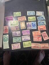 Af US, 1935 -1959 Commemorative Mix set 27 Stamps From Grandpop