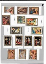 CHRISTMAS THEME STAMPS- 4 African countries-Unlisted imperf varieties(20 stamps)