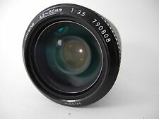 NIKON 43~86 NIKKOR AI ZOOM LENS PERFECT GLASS SMOOTH FOCUS AND SNAPPY APERTURE