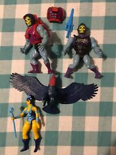 Vintage MOTU He-Man Figure Lot-Screech, Evil-Lyn, Battle & Dragon Blast Skeletor