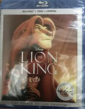 The Lion King -The Circle Of Life Edition [Blu-Ray +DVD+ DIGITAL] New. Region  A