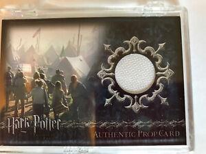 Harry Potter G.o.F. P1 Irish Flag Prop card White Varient #417/455