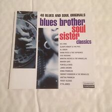 Blues Brother Soul Sister Classics (1999) CD X 2 Various Artists