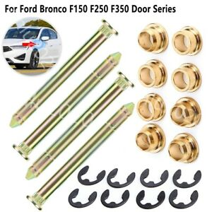 Door Hinge Pins Pin Bushing Kit Set For Ford Bronco F150 F250 F350 Door Series