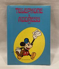Mickey Mouse Address Book Disney Minnie Wire Bound Old Stock