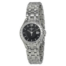 Tissot Lady Small Black Dial Stainless Steel Ladies Watch T0720101105800