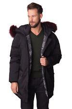 ❤️ KENZO Down Parka Jacket Size XL Black Canada Goose Raccoon Fur XXL RRP£820 DG