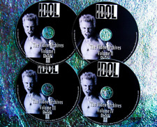 Billy Idol Video Archives 1978-2008 4 Dvd Set Live Concerts & Interviews