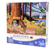 Hometown Collection Yosemite Camping 1000 Pc Jigsaw Puzzle