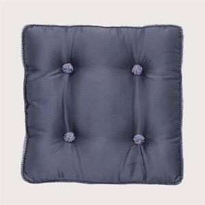 CROSCILL CLASSICS CONCERTO BUTTON SQUARE FASHION DECORATIVE TOSS PILLOW - LILAC