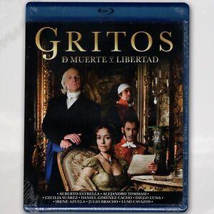 Gritos de Muerte y Libertad Blu-ray Región A en Español Latino Miniserie 13 Ep.