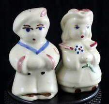 Shawnee Pottery BO PEEP & LITTLE BOY BLUE Salt & Pepper Vintage GREAT CONDITION