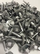 1000 5.5 x 25mm Tek Screw & Bonded Washer, Box Cladfix, RoofTek Fixings Screws,