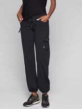 NWT Athleta Black Bettona Boyfriend Pant, sz L Large  #921634