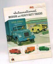 1959? INTERNATIONAL TRUCK BC Line MEDIUM/ HEAVY DUTY Brochure:150,160,170,180
