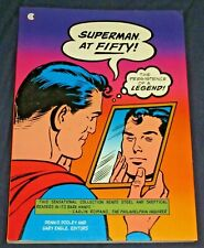 SUPERMAN AT FIFTY: The Persistence of a Legend 1st Edition Collier Books 1988 VF