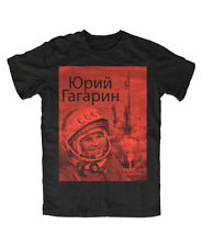 Juri Gagarin T-Shirt UDSSR,Russia,Retro,Ost,DDR,Roskosmos,CCCP Kosmonaut