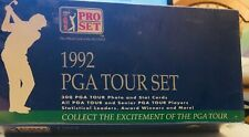 1992-PGA-Tour-Set-Sealed-amp-Unopened-W-300-Photo-amp-Stat-Cards
