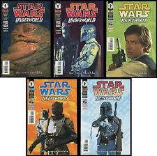 Star Wars Underworld Photo Comic Set 1-2-3-4-5 Lot Boba Fett IG-88 Dengar Bossk