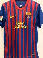 FC BARCELONA 2011 2012 HOME FOOTBALL SOCCER SHIRT JERSEY SHIRT CAMISETA M MEDIUM