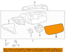Lincoln FORD OEM 12-15 MKS Door Rear Side View-Mirror Glass Left CA5Z17K707BB